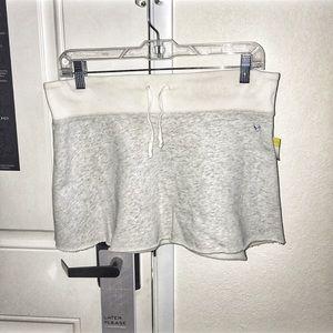American Eagle sweat pant skirt mini s small 90's